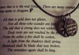 Lord of the Rings Quote. Not all Those Who Wander... Aragorn/Strider Print/Poster. Sizes: A4/A3/A2/A1 (003409)